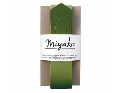 Miyako Taschengriff: Oliv im Makerist Materialshop