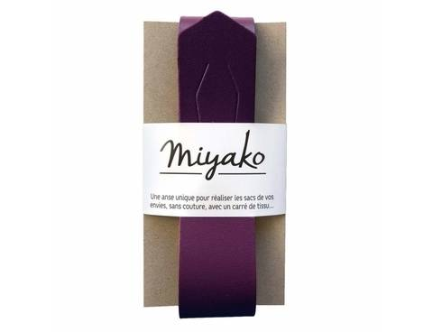 Miyako Taschengriff: Lila im Makerist Materialshop