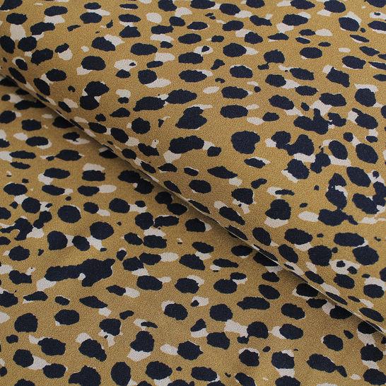 Viskosestoff: Leopardenmuster - 140 cm im Makerist Materialshop - Bild 1
