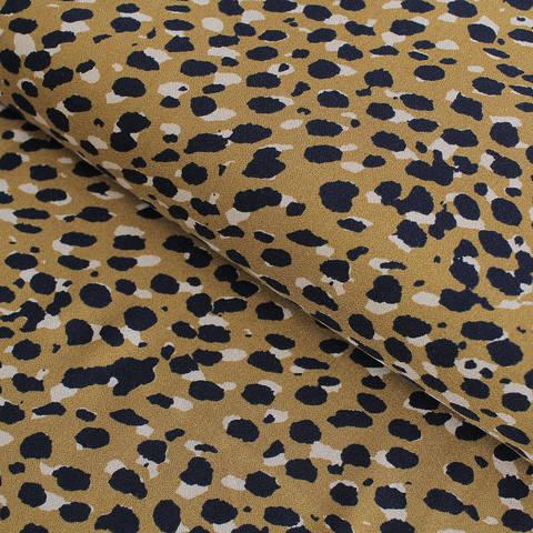 Viskosestoff: Leopardenmuster - 140 cm im Makerist Materialshop