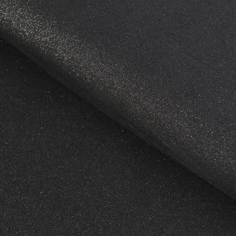 Viskosejersey schwarz: Glitzer - 145 cm im Makerist Materialshop
