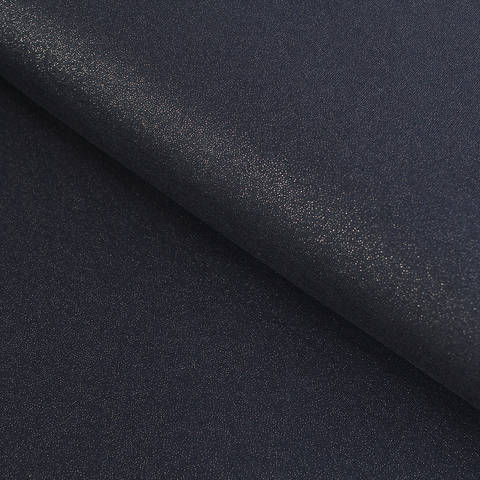 Viskosejersey dunkelblau: Glitzer - 145 cm im Makerist Materialshop