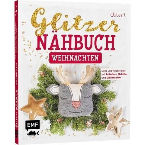 Glitzer Nähbuch - Weihnachten - Buch  im Makerist Materialshop