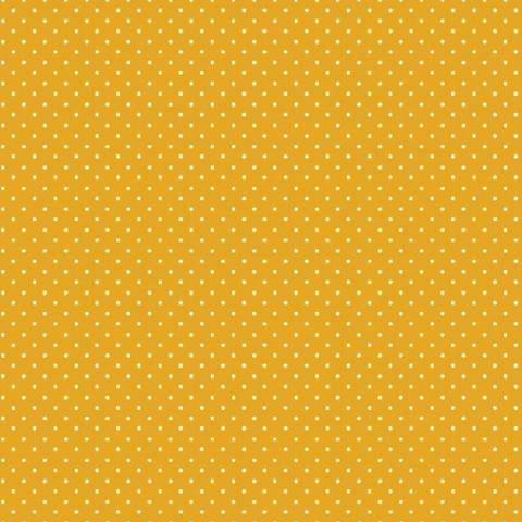 Baumwolle Design Petit Dots: gelb im Makerist Materialshop