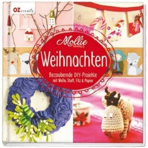 DIY Mollie Makes - Weihnachten - Buch im Makerist Materialshop
