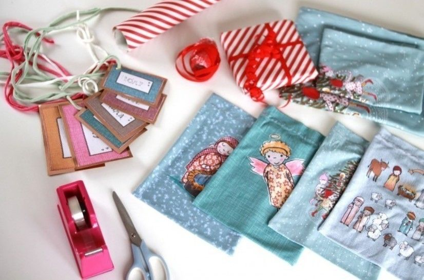 Lillestoff Rapport Slubjersey: Geschenksäckchen - 140 cm im Makerist Materialshop - Bild 1