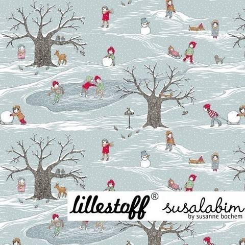 Lillestoff Bio-Summersweat: Bellas Jahreszeiten - der Winter - 160 cm  im Makerist Materialshop