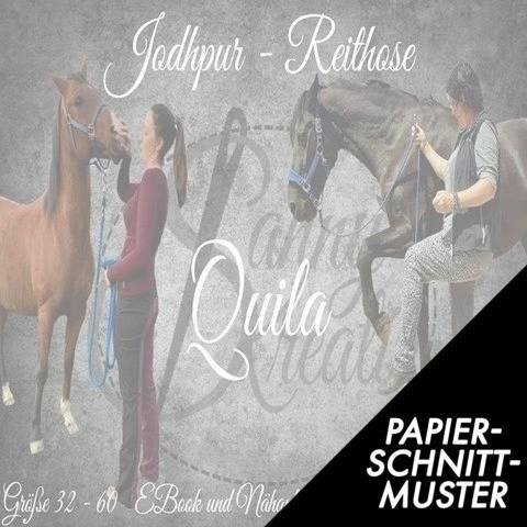 """Gedrucktes Schnittmuster für: Jodhpur Reithose """"Quila"""" Gr 32-60 im Makerist Materialshop"""