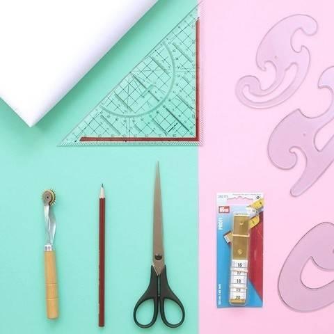 Schnittmuster anpassen und Lieblingsteil kopieren Komplettbox *ohne Schneiderwinkel* im Makerist Materialshop