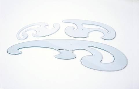 Kurvenlineal 3er Set von Rumold im Makerist Materialshop