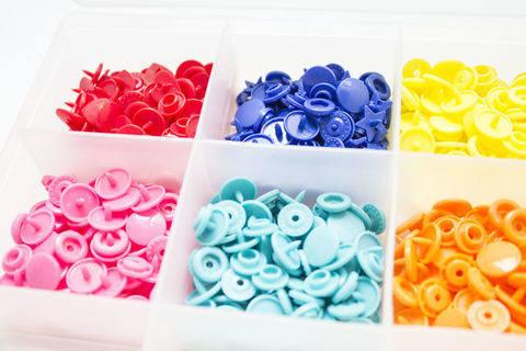 Druckknöpfe KAM Snaps T5 glänzend von Snaply 25 Stk. im Makerist Materialshop