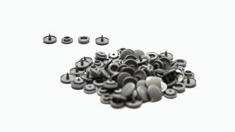 Druckknöpfe KAM Snaps T5 glänzend von Snaply 25 Stk. - B13 silber im Makerist Materialshop