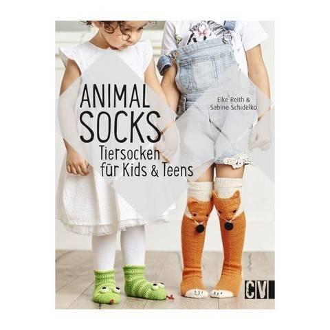Animal Socks - Tiersocken für Kids & Teens - Buch im Makerist Materialshop