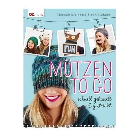 Mützen to go - Schnell gehäkelt und gestrickt - Buch im Makerist Materialshop