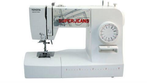 Nähmaschine Toyota SuperJeans 15 - white im Makerist Materialshop