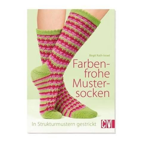 Stricken Farbenfrohe Mustersocken - Buch im Makerist Materialshop