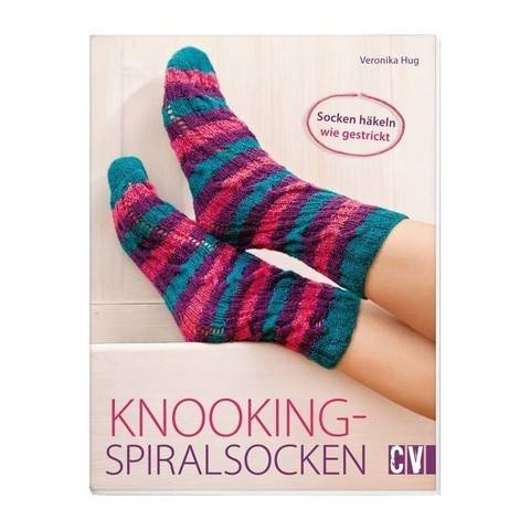 Knooking-Spiralsocken - Buch im Makerist Materialshop