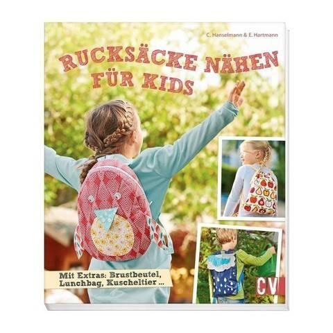 Rucksäcke nähen für Kids - Buch im Makerist Materialshop