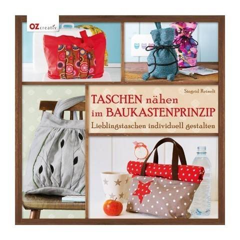 Taschen nähen im Baukastenprinzip - Buch im Makerist Materialshop