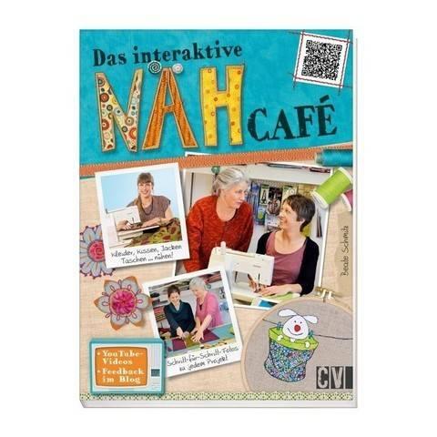 Das interaktive Nähcafé - Buch im Makerist Materialshop