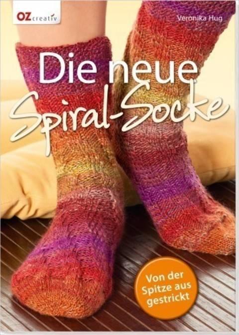 Die neue Spiral-Socke - Von der Spitze aus gestrickt - Buch im Makerist Materialshop