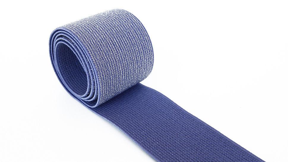 Elastisches Glitzerband - jeansfarbend - 5 cm im Makerist Materialshop - Bild 2