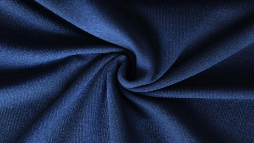Tissu en sweat bleu foncé : Eike 155 cm dans la mercerie Makerist - Image 2