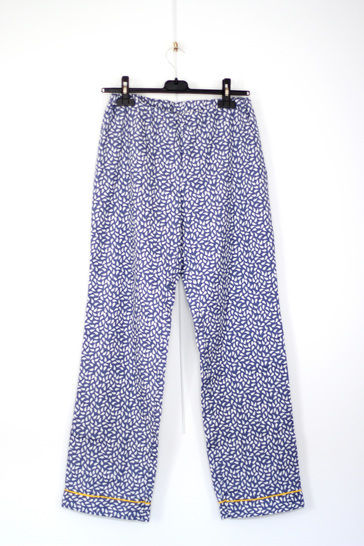 Poplin pajama pants Lola - L-XL / US size 10-12 / UK 12-14
