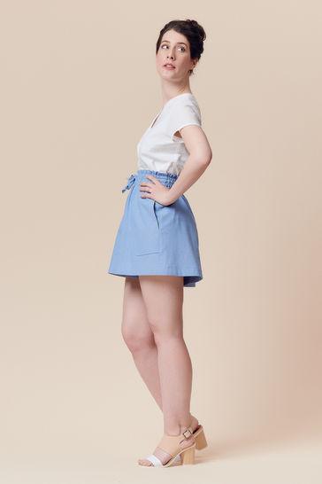 Patron pochette short ou jupe femme Goji par Deer&Doe dans la mercerie Makerist - Image 4