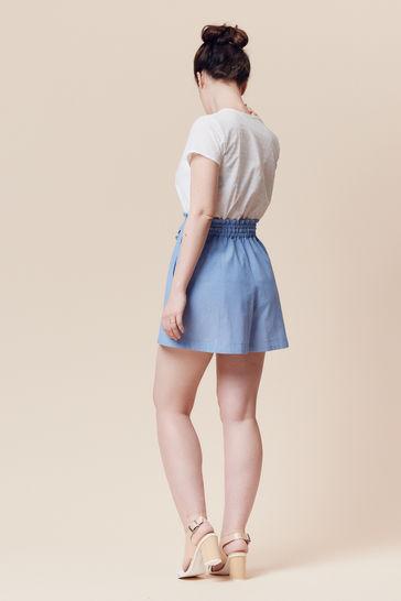 Patron pochette short ou jupe femme Goji par Deer&Doe dans la mercerie Makerist - Image 5