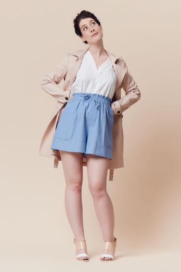 Patron pochette short ou jupe femme Goji par Deer&Doe dans la mercerie Makerist - Image 6