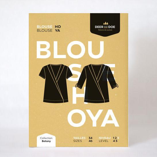 Patron pochette blouse femme Hoya par Deer&Doe dans la mercerie Makerist - Image 2