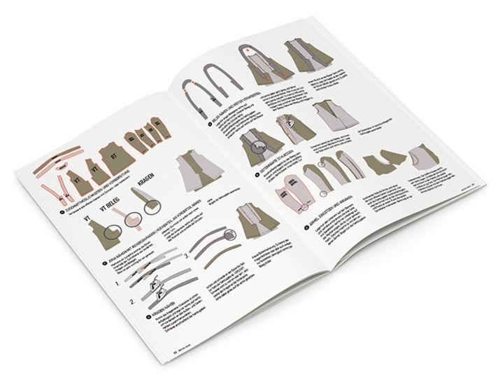 Schnittgeflüster Magazin: Dressed 9/18 im Makerist Materialshop - Bild 3
