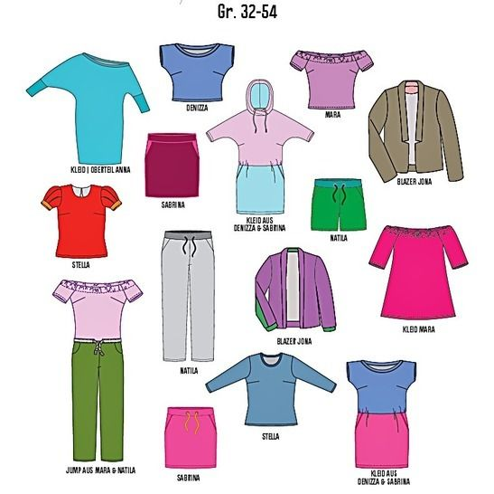 Schnittgeflüster Magazin: Dressed 9/18 im Makerist Materialshop - Bild 4