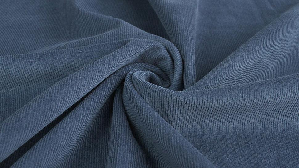 Cordstoff fein dark denim - 147 cm im Makerist Materialshop - Bild 4