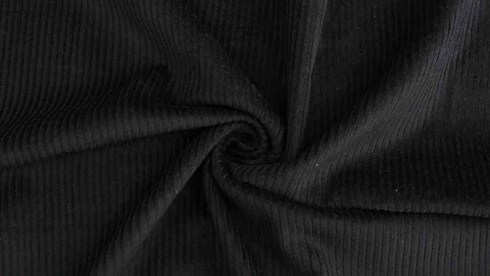 Velours côtelé noir - 147 cm dans la mercerie Makerist - Image 2