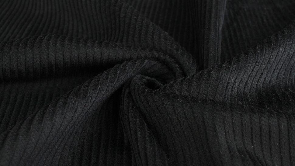 Velours côtelé noir - 147 cm dans la mercerie Makerist - Image 3