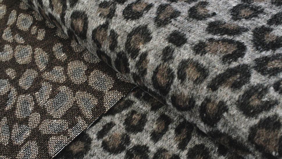 Mantelstoff Animal Print: Leomuster - 150 cm im Makerist Materialshop - Bild 2