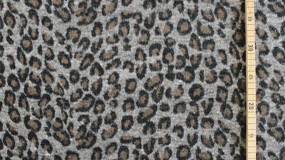 Mantelstoff Animal Print: Leomuster - 150 cm im Makerist Materialshop - Bild 3
