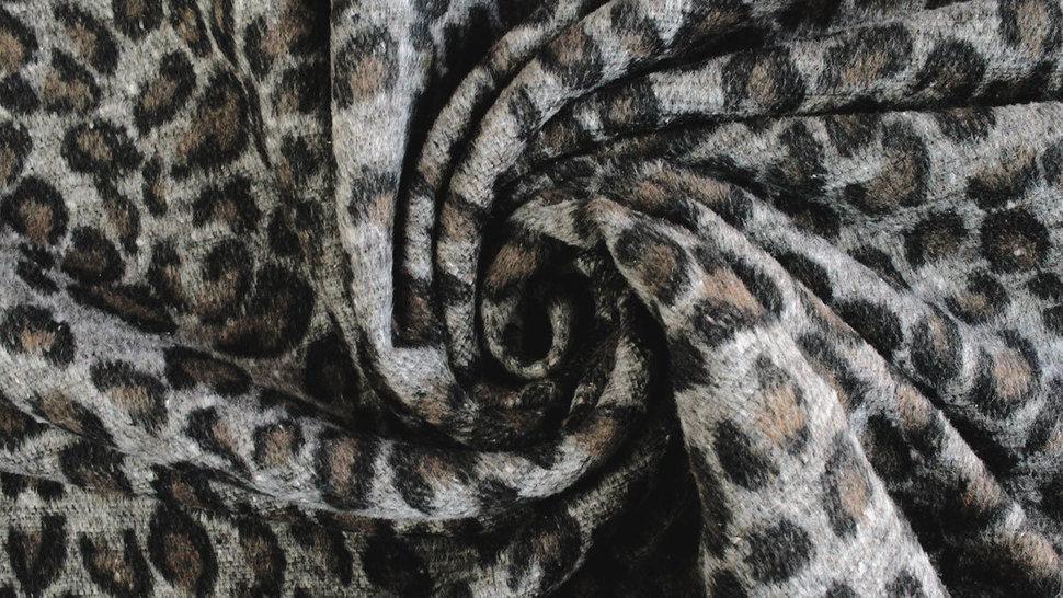 Mantelstoff Animal Print: Leomuster - 150 cm im Makerist Materialshop - Bild 4