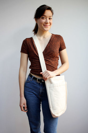 Shoulder bag Virginia - Sewing Pattern