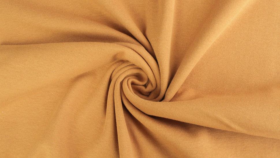 Bündchenstoff ocker: Heike - 100 cm im Makerist Materialshop - Bild 2