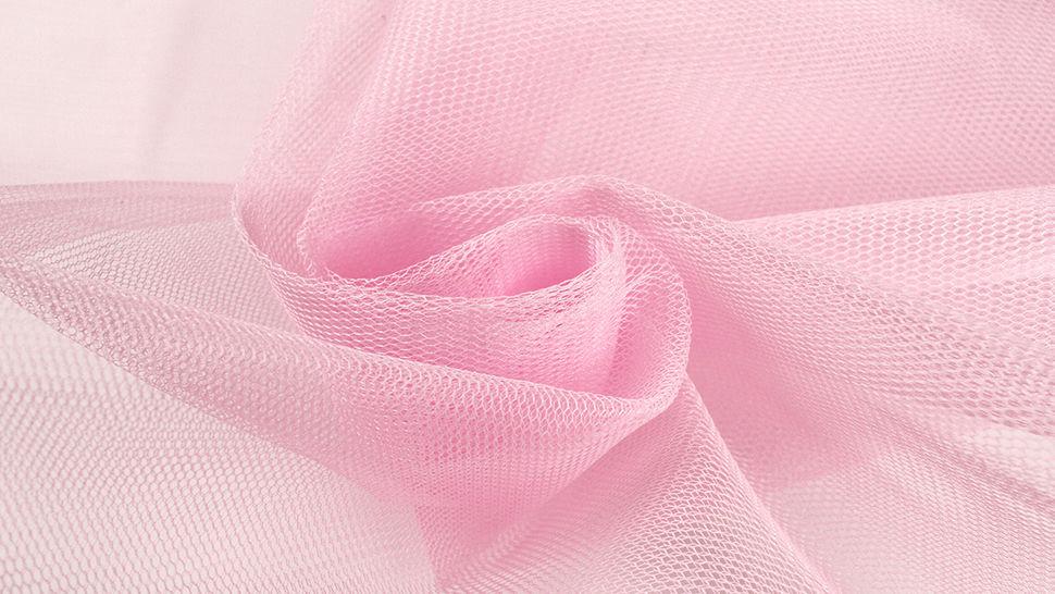 Brauttüllstoff hellrosa - 160 cm im Makerist Materialshop - Bild 2