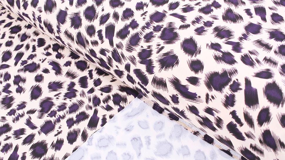 Bademodenstoff sandfarben: Wildes Muster - 155 cm im Makerist Materialshop - Bild 2