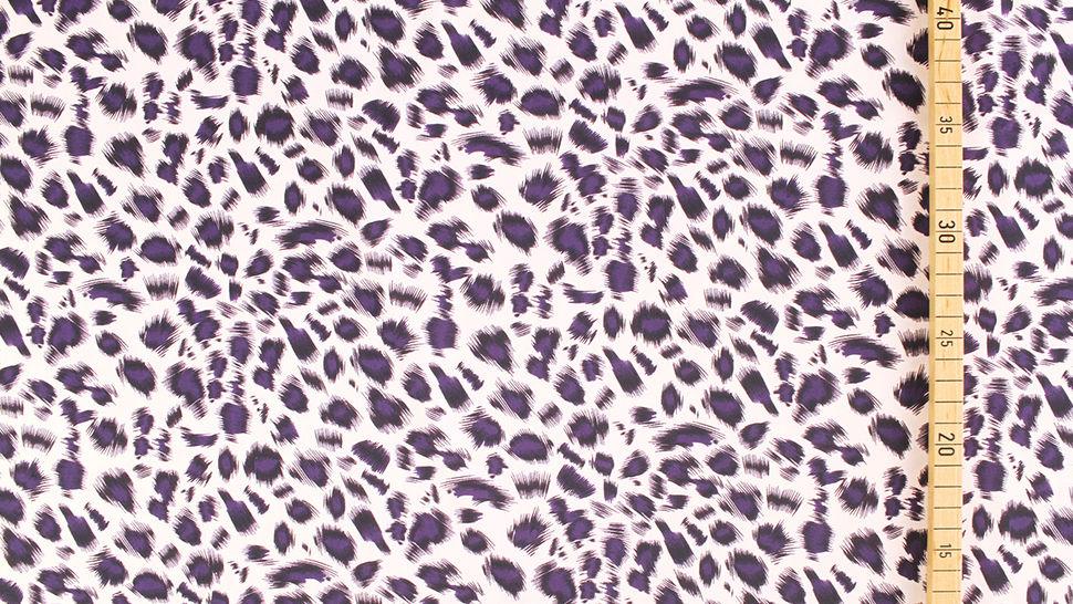 Bademodenstoff sandfarben: Wildes Muster - 155 cm im Makerist Materialshop - Bild 4