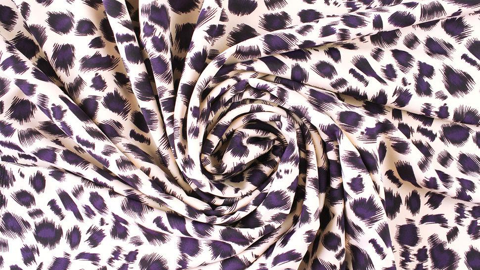 Bademodenstoff sandfarben: Wildes Muster - 155 cm im Makerist Materialshop - Bild 5
