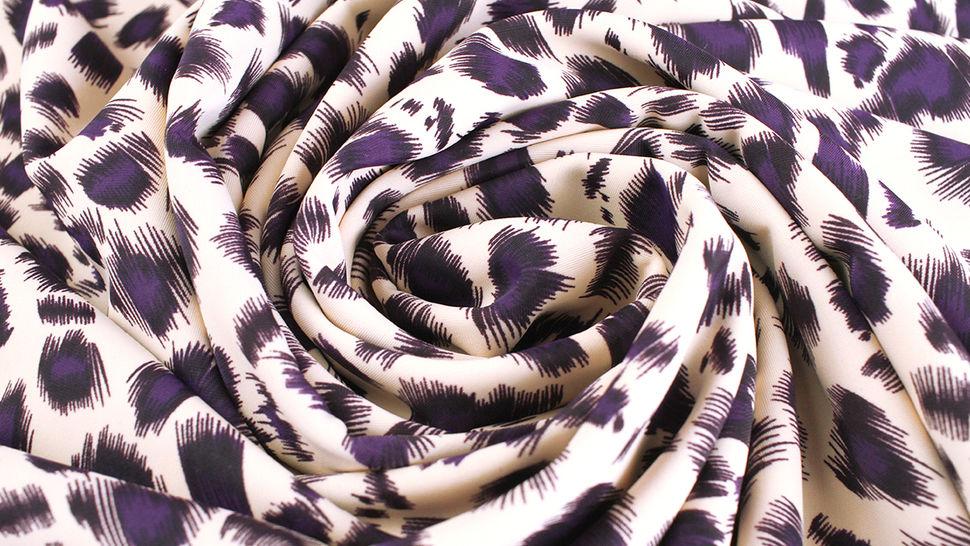 Bademodenstoff sandfarben: Wildes Muster - 155 cm im Makerist Materialshop - Bild 6