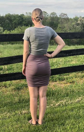 Ivy Ruched Skirt