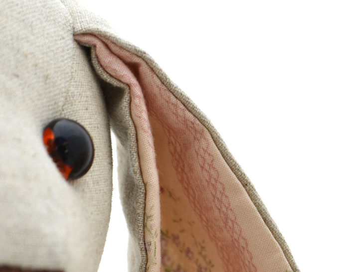 Floppy Eared Bunny Soft Toy - Stuffed Toy Sewing Pattern