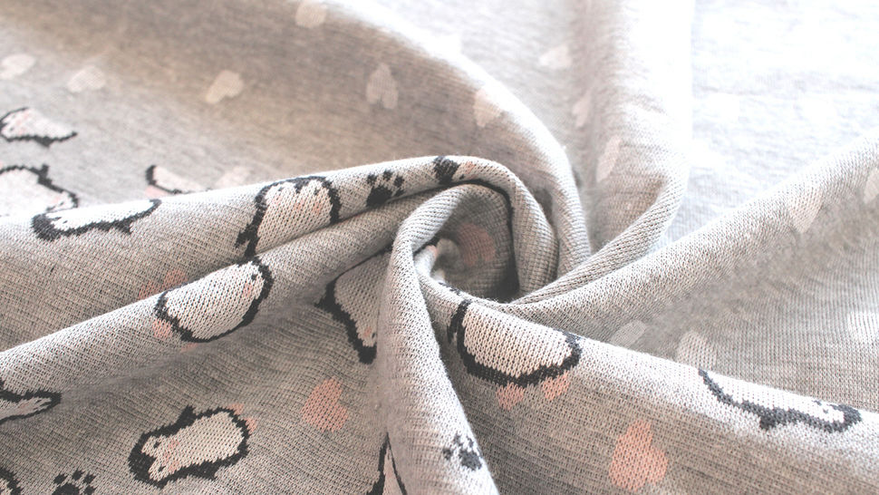 Jacquardstoff Rapport grau: Pinguin - 150 cm im Makerist Materialshop - Bild 9